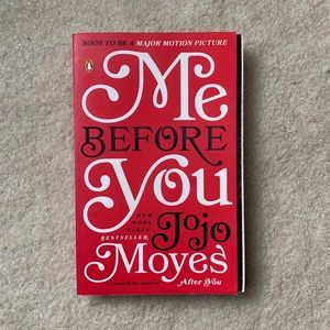 Me before you book by Jojo Moyes